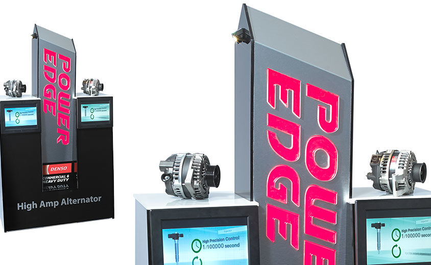 Industrial Design: DENSO Power Edge Kiosk