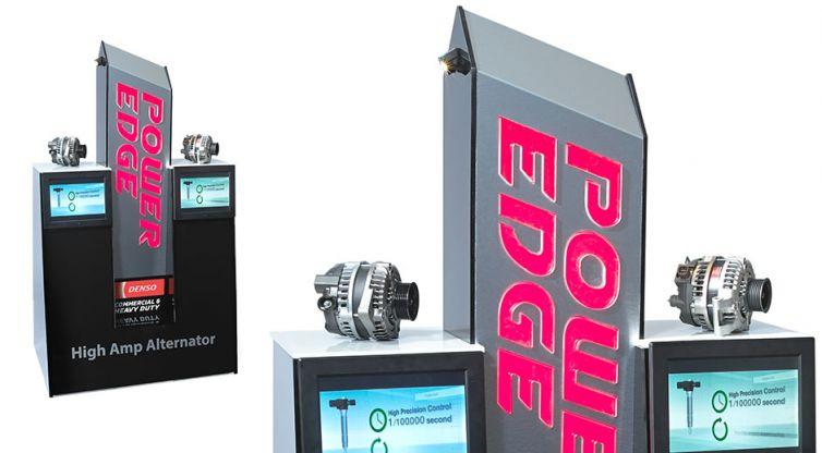 Industrial Design: DENSO Power Edge Kiosk