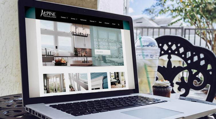 Website Design and Development: Alpine Door & Trim