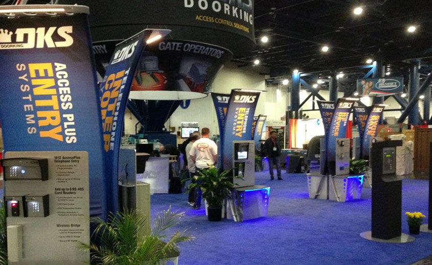 Trade Show Booth: Doorking