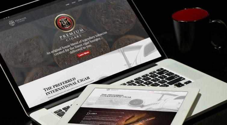 Website Design and Development: LH Cigars