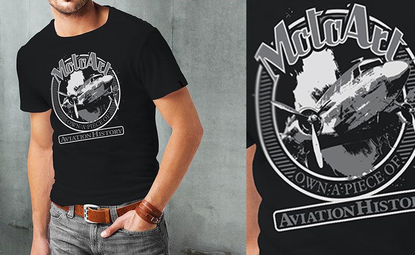 T-Shirt Design: MotoArt