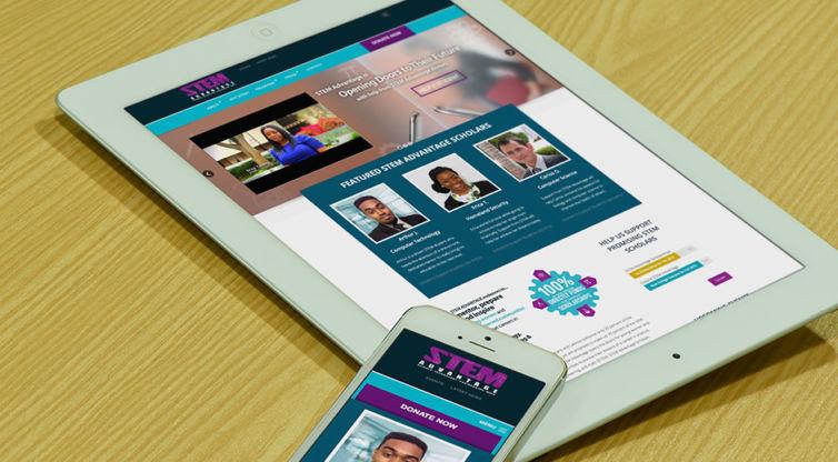 Website Design and Development: STEM Advantage