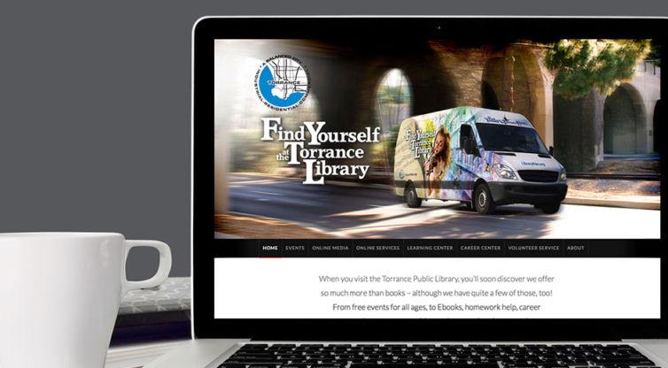 Website Design and Development: Torrance Library Van