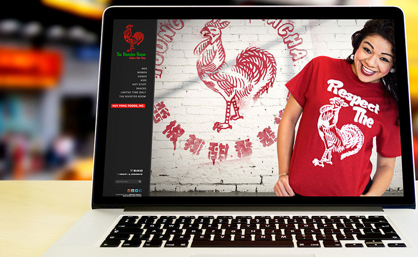 Website Design and Development: Huy Fong Foods, Inc. – Sriracha Shop