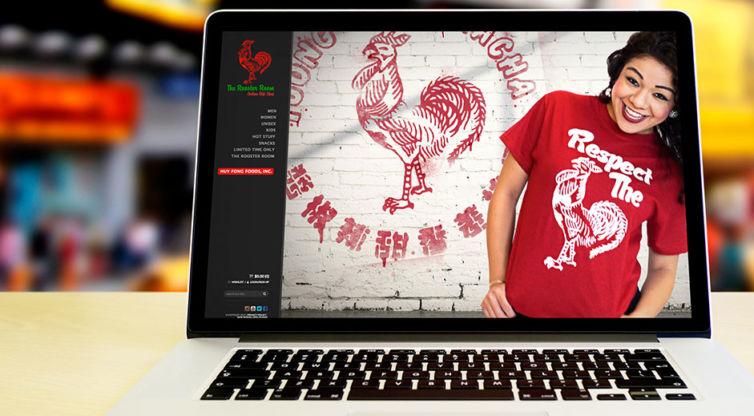 Website Design and Development: Huy Fong Foods, Inc. – Sriracha Shop