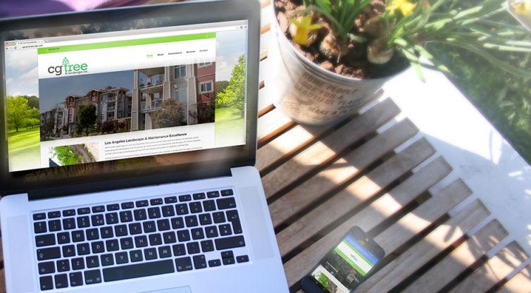 Website Design and Development: CG Tree and Landscape Inc.