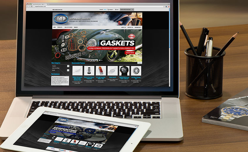 WEBSITE DESIGN AND DEVELOPMENT: IAP PERFORMANCE PRODUCTS