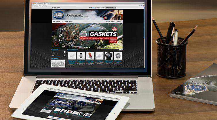 Website Design and Development: IAP Performance