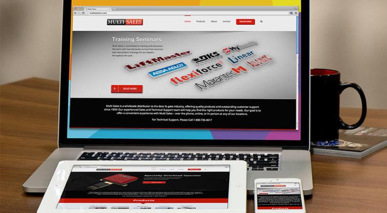 Website Design and Development: Multi Sales Inc.