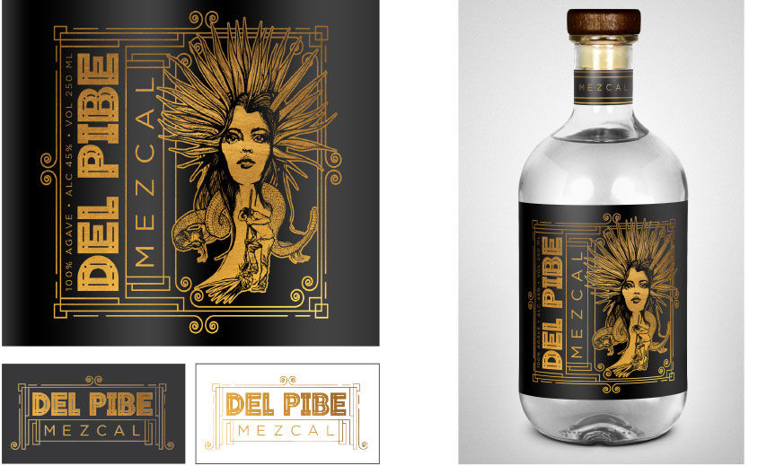 Branding & Packaging: Del Pibe Mezcal