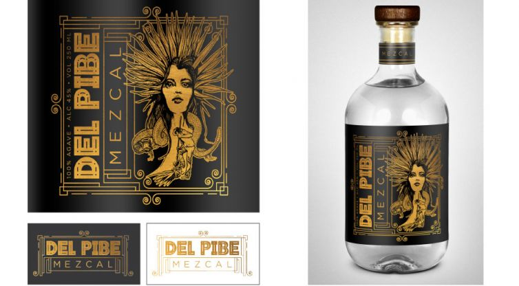 Branding & Packaging: Del Pibe Mezcal