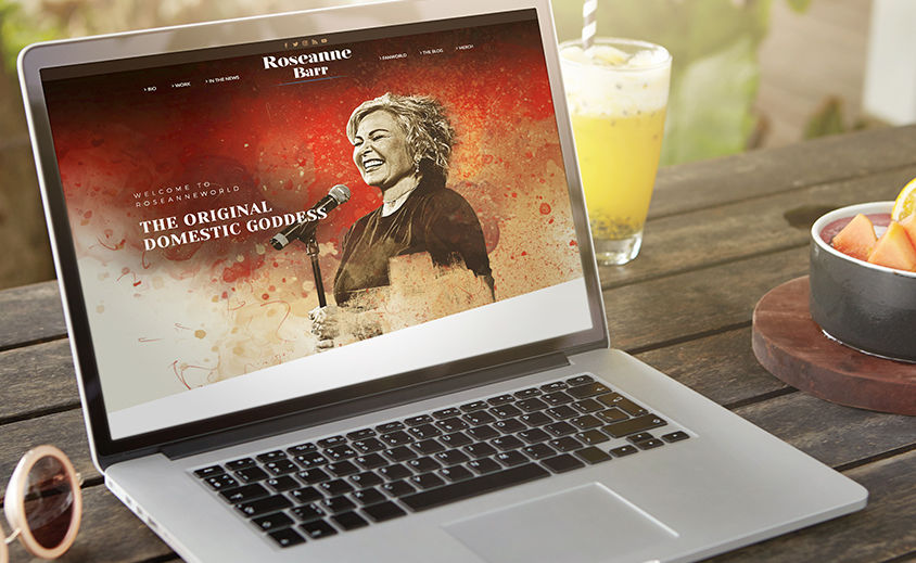 Website Design and Development: Roseanne Barr