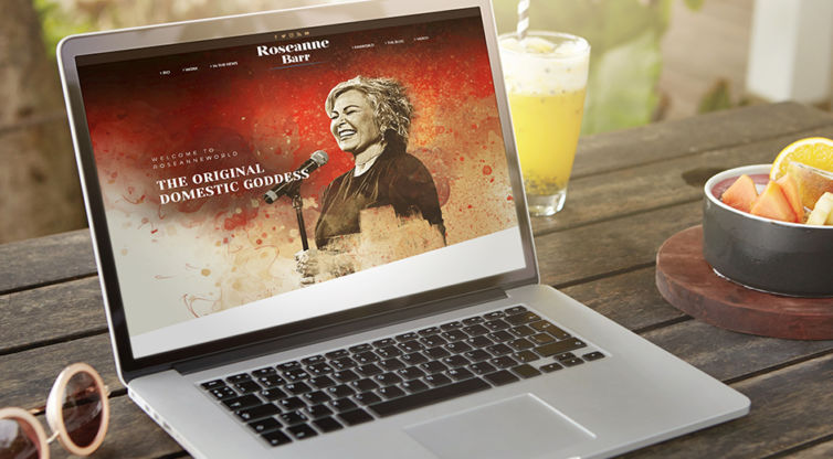 Website Design and Development: Roseanne Barr