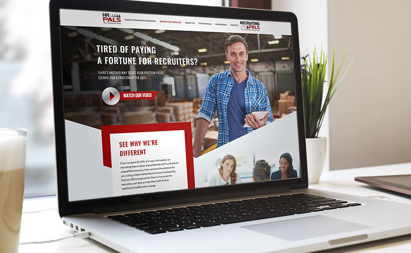WEBSITE DESIGN AND DEVELOPMENT: HR Pals