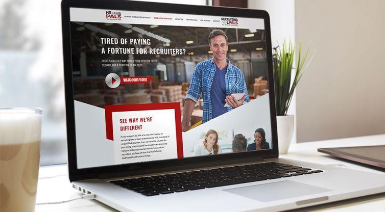 WEBSITE DESIGN AND DEVELOPMENT: HR Pals