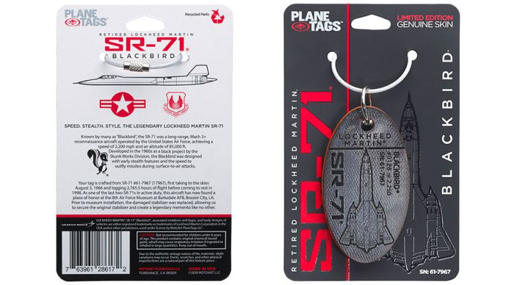 PACKAGE DESIGN: Plane Tags