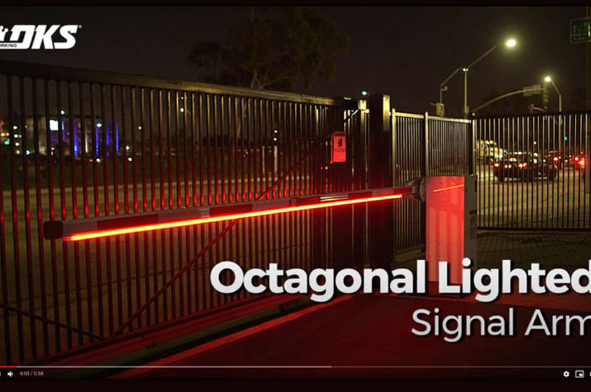 VIDEO: DKS Traffic Control: Octagonal Lighted Signal Arm
