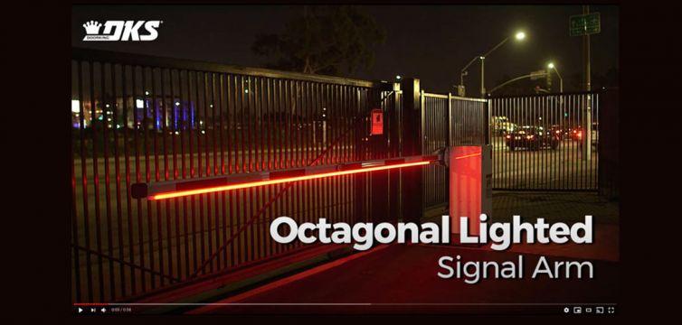 VIDEO: DKS Traffic Control: Octagonal Lighted Signal Arm
