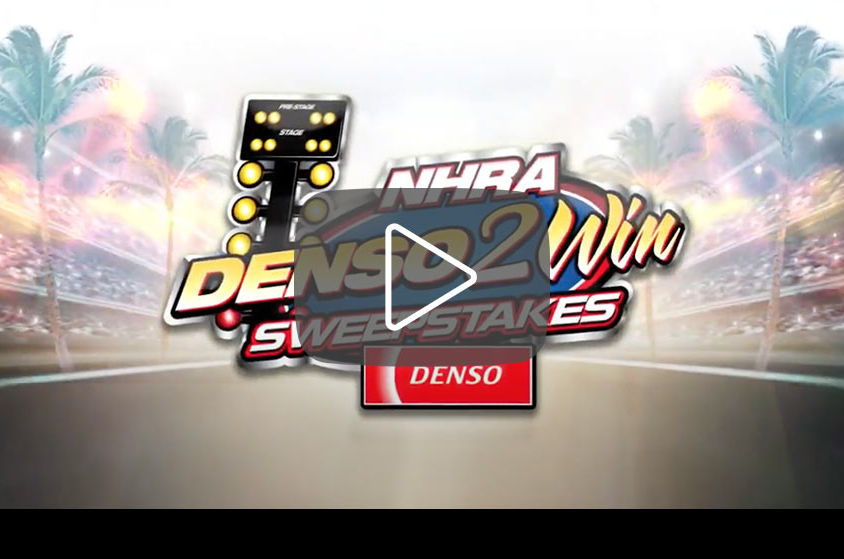 VIDEO: NHRA DENSO 2 Win Sweepstakes 2016