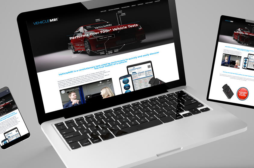 WEBSITE DESIGN AND DEVELOPMENT: VehicleMRI