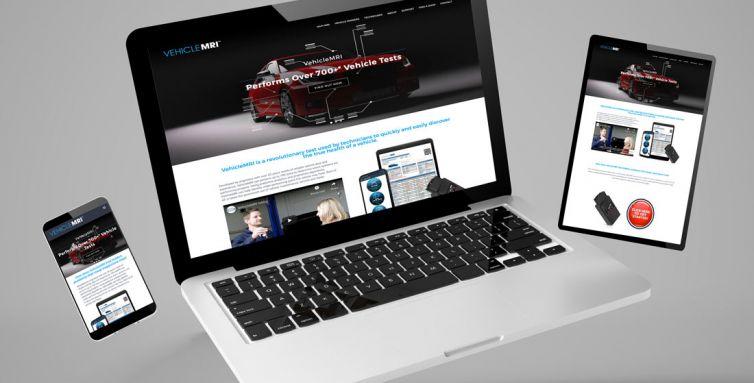 WEBSITE DESIGN AND DEVELOPMENT: VehicleMRI